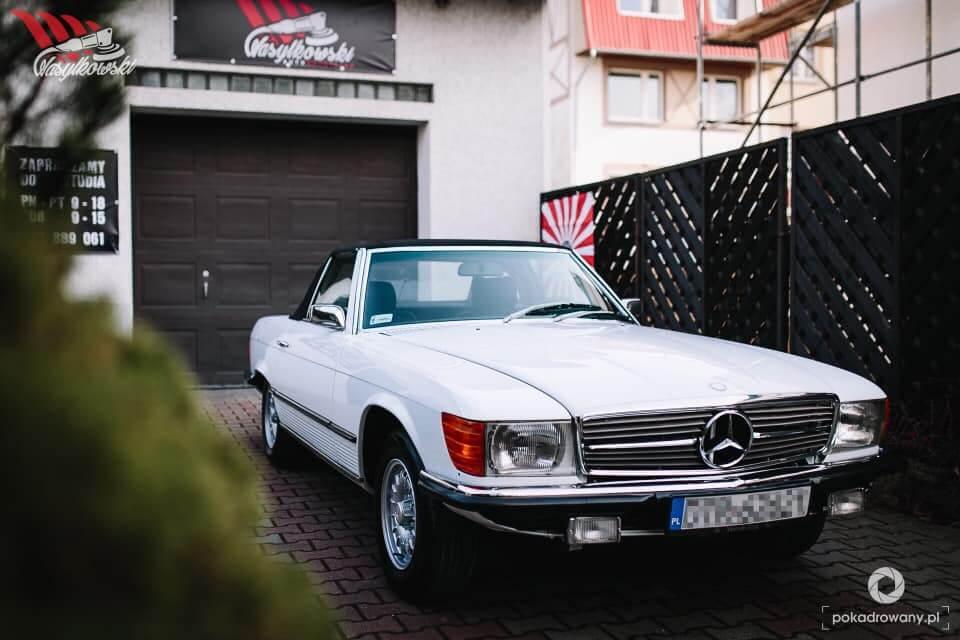 Mercedes - dwu etapowa korekta lakieru