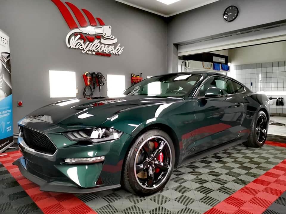 Zabezpieczenie powłoką ceramiczną Mustang