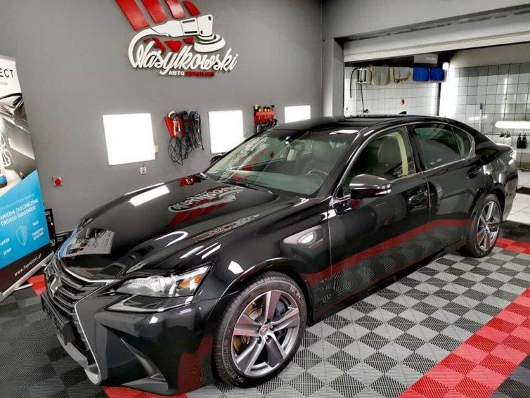 Lexus GS – zabezpieczenie powłoką ceramiczną