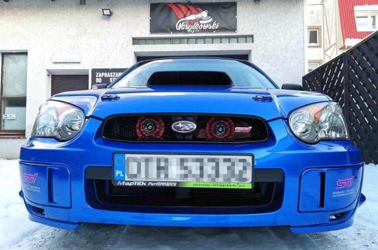Mycie detailingowe – Subaru Impreza STI